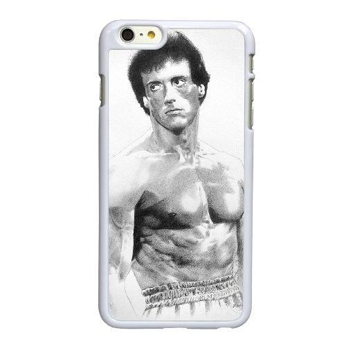 X5K31 Rocky Balboa Sylvester Stallone R0Z8JE coque iPhone 6 4.7 pouces Cas de couverture de téléphone portable coque blanche WZ8OKQ4ZK