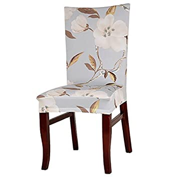 GreensunTM Removable Stretch Elastic Slipcovers Dining Room Chair Covers Washable