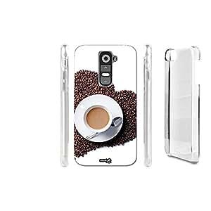 FUNDA CARCASA AMORE CON CAFFE' PARA LG G2 MINI D620