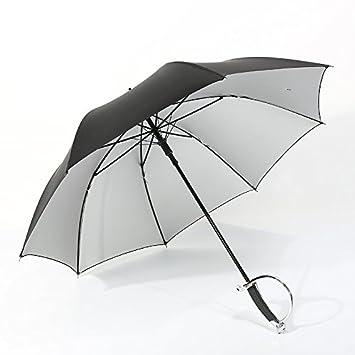 LEONARK creativa esgrima espada mango palo paraguas-largo paraguas sombrilla de mango para tirador-