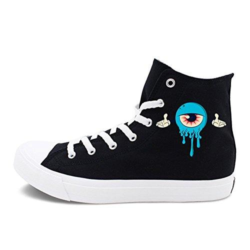 Zapatos De Mujer Nuevos Zapatos De Lona De Creative Academy, Zapatos Casuales Neutros De Hip Hop, Zapatos Planos De Mujer con Cordones Segundo