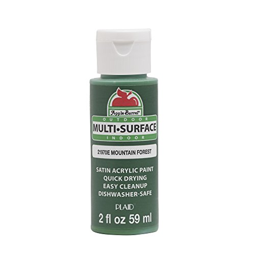 Apple Barrel 21970E Multi Surface Acrylic Paint, 2 oz, Mountain Forest