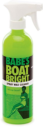 Babe's Boat Care Spray Wax Cleaner, Gallon BB7001