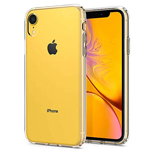 MKOAWA Case iPhone XR, Ultra Thin Slim Fit Soft TPU Clear Bumper Transparent Protective Cover Cases Compatible iPhone XR 6.1 inch (2018 Release), Crystal Clear