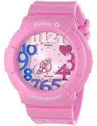 Casio Womens BGA-131-4B3CR Baby-G Pink Stainless Steel Watch
