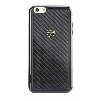 cheap for discount 684c3 045c3 Amazon.com: Automobili Lamborghini Huracan iPhone 6 & 6s Case (Black ...