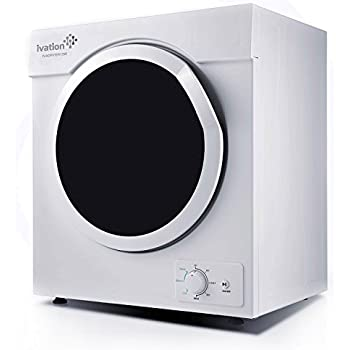 Amazon.com: Ivation Compact Portable Ventless Electric Dryer for ...