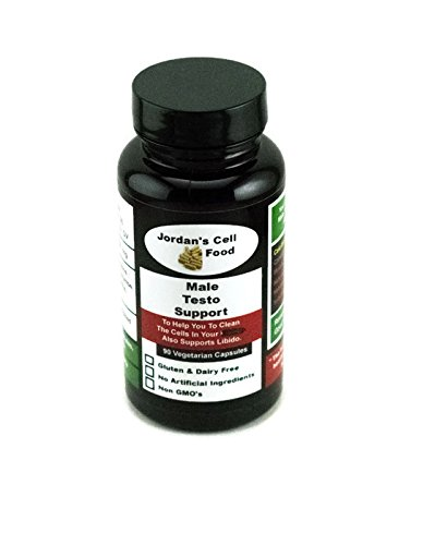 Male Testo Support (Similar to Dr. Sebi's Testo) 90 Capsules 100% Natural