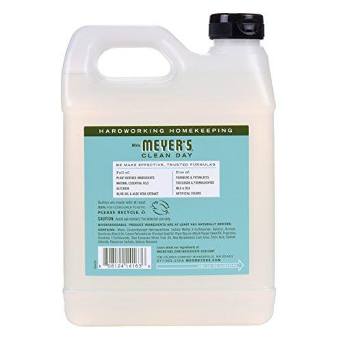 Mrs. Meyers - Liquid Hand Soap Refill, Basil - 33 Ounce