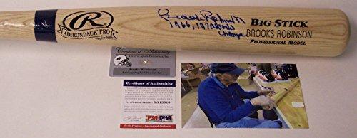 Brooks Robinson Autographed Hand Signed Rawlings Baseball Bat - PSA/DNA