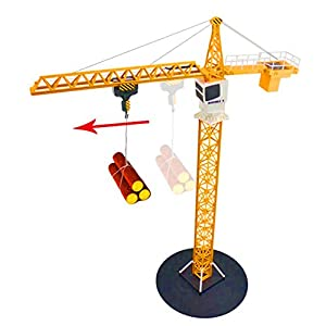 40 inch tall DoubleE 2.4G Simulation Remote Control RC Tower Crane Toy