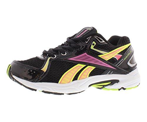 Reebok Doublehall 2.0 Running Chaussures Femmes Noir / Électro Rose / Solaire