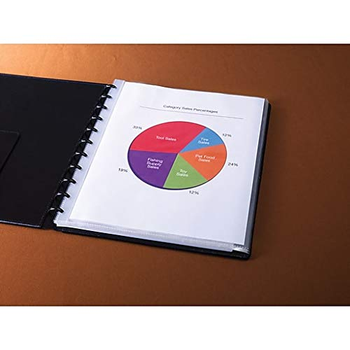 Arc Customizable Notebook System Sheet Prote #25 Top Loading Sheets, Letter Size