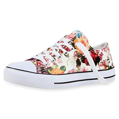 Best-botas para mujer zapatilla zapatillas zapatos de cordones estilo deportivo Weiss Nuovo