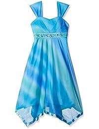 Girls' Ombre Beaded Dress