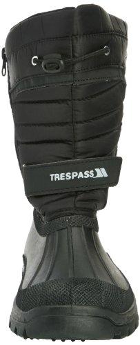 Trespass Para Hombre Trespass Dodo Winter Snow Botas De Esquí Impermeables Black Manmade Black