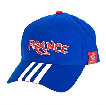 adidas Uni Fan Gorro CF France con 3 Rayas, BLU/Bianco: Amazon.es ...