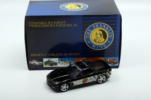 2008 Corvette LS3 Indy 500 Pace Car Coupe by The Franklin Mint in 1:24 Scale by Franklin - 24 Coupe Scale Corvette