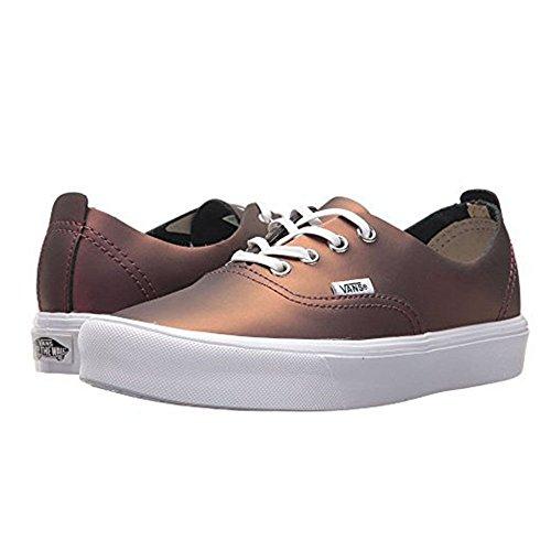 Vans Autentico Decon Lite (muto Metallizzato) Moda Sneakers Rosso / Oro Taglia 9 Uomini / 10,5 Donne