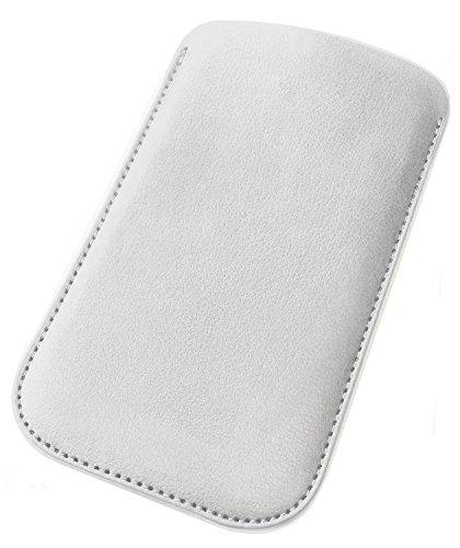 Etui für Apple Iphone 6 Tasche Schutztasche Hülle Handy Schutz Case Handytasche Handyhülle Schutzhülle Weiß