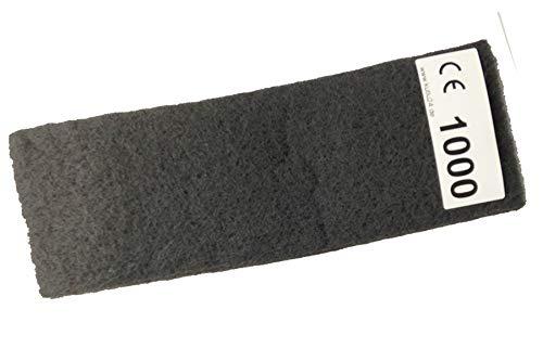 115x280mm Schleifvlies Schleifflies zum VA V2A Edeltahl schleifen polieren K1000 Kutlu Deutschland GmbH