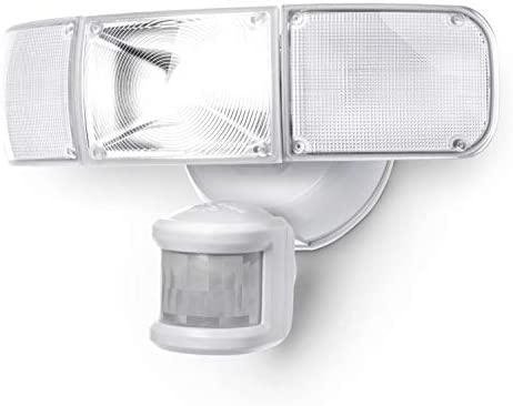Home Zone Security Motion Sensor Light – Ultra Bright 3 Head Outdoor Weatherproof LED Flood Light