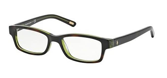 Ralph Lauren POLO PP8518 Monturas de gafas, Tort/Green, 48 para ...