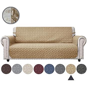 Amazon Com Ameritex Couch Sofa Slipcover 100 Waterproof