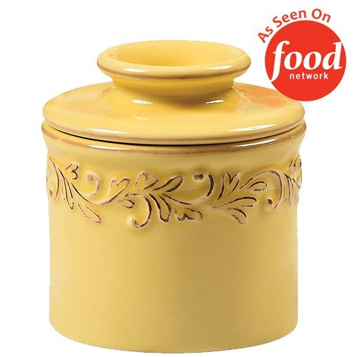The Original Butter Bell Crock by L. Tremain, Antique Collection - (Yellow Dinnerware Collection)