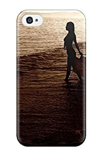 THYde Hard Plastic Iphone 5c Case Back Cover,hot Woman Walking Case At Perfect Diy ending