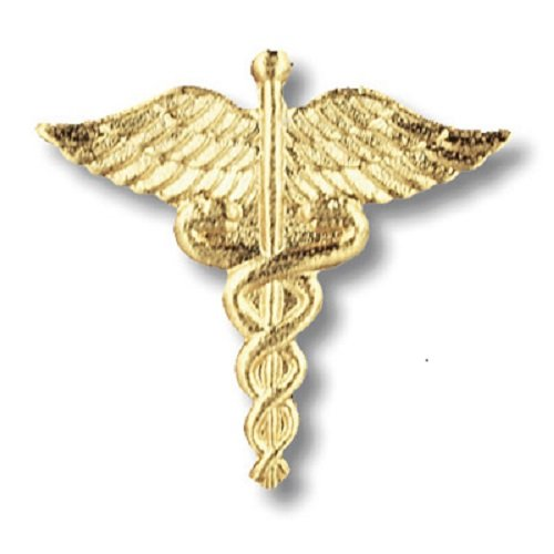 Prestige Medical Emblem Pin, Caduceus