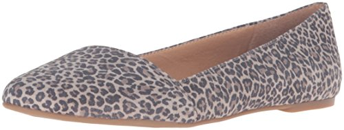 Lucky Brand Women's Archh Pointed Toe Flat, Brindle, 9 M US