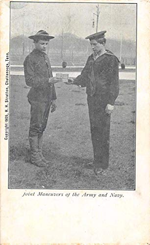 Joint Maneuvers of the Army and Navy Military Vintage Postcard JB626951