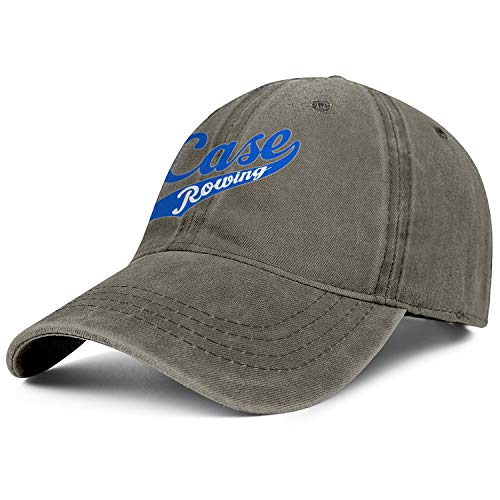 (Baseball Cap - Case-Script-Logo- Adjustable Classic Cowboy Hat for Men Women)