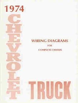 1974 chevrolet truck, blazer, suburban \u0026 pickup complete 10 page set 66 Chevy Truck Wiring Diagram