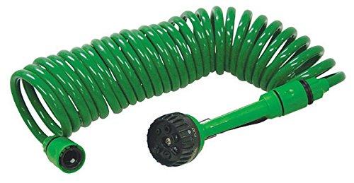 Gartenschlauch Spiralschlauch Schlauch 7,5m 7Funktionen
