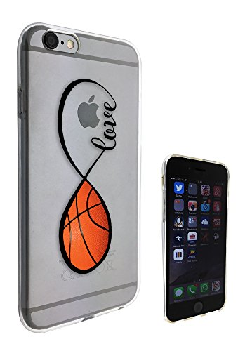 c0140 - Love infinity Love Basketball Design Pour iphone 5C Protecteur Coque Gel Rubber Silicone protection Case Coque
