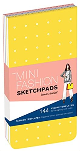 The Mini Fashion Sketchpads: 144 Figure Templates for Designing ...