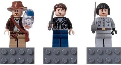 Lego Indiana Jones Magnet Set 852719 - Indiana Jones, Mutt Williams, Irina Spalko by LEGO: Amazon.es: Juguetes y juegos