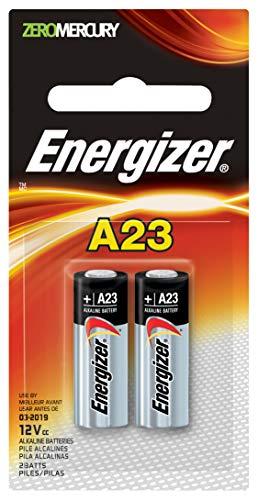(Energizer Zero Mercury Alkaline Batteries A23 2 ea)