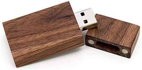 Walnut Photo Album Box USB Flash Drive 8GB 16GB 32GB 64GB USB2.0 Memory Stick Cl