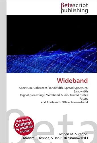 Buy Wideband: Spectrum, Coherence Bandwidth, Spread Spectrum