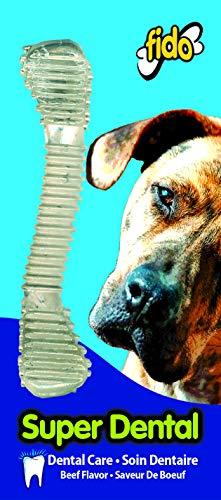 Fido Super Dental Dog Bones, Medium 6-1/4