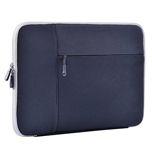 Laptop Sleeve, YUYI Water-Resistant Neoprene Laptop Sleeve Case Cover for 11.6-Inch Laptop / Chromebook /Notebook /Ultrabook/ New Macbook 12'', Black - Imac Laptop Sleeve