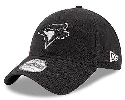 pretty nice 6a6fb c578e New Era Toronto Blue Jays MLB 9Twenty Twill Core Classic Adjustable Black  Hat
