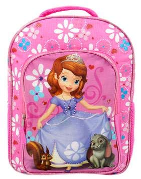 Disney Studios Kids School Backpacks (Princess Sofia The First Light Up Back Pack) Toy -