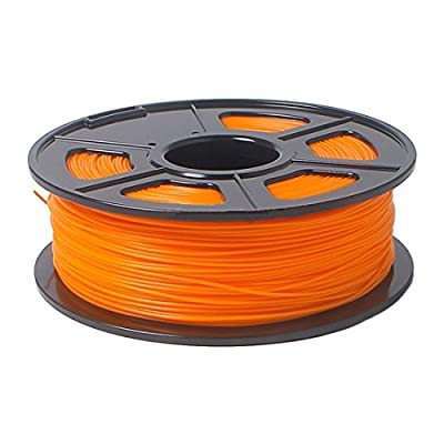 3D Printing supplies - SODIAL(R)PLA 3D Printing supplies 1kg/2.2lb 1.75mm para Mendel Orange