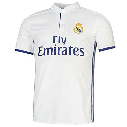 60047948916  7 Ronaldo Real Madrid Home Kid Soccer Jersey   Matching Shorts Set 2016-17
