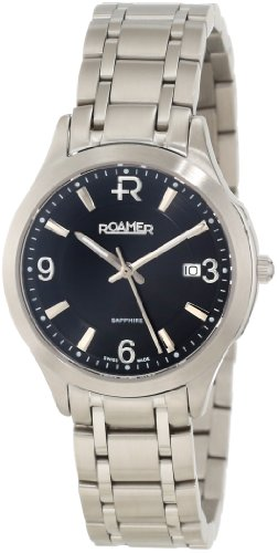 Roamer of Switzerland Women's 509978 41 54 50 Preview Silver Dial Two-Tone Stainless Steel Watch