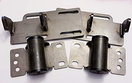 Ls1 Engine Swap Kit - Chevy C10 1988-1999 Engine Mount Adapter Plates Engine Swap Kit Lsx Ls1 Ls2 Ls7 Lq9 5.3 6.0